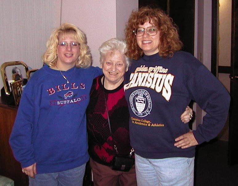 My Aunt Jill, my grandma, and my mom